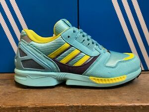 adidas originals zx 8000 light aqua sneaker blau