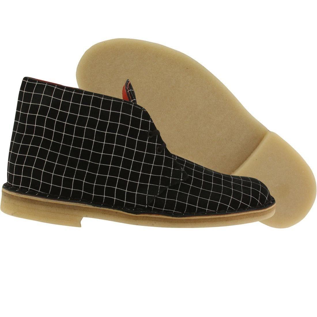 179.99 Clarks Men Desert Boot black white grid 26110027