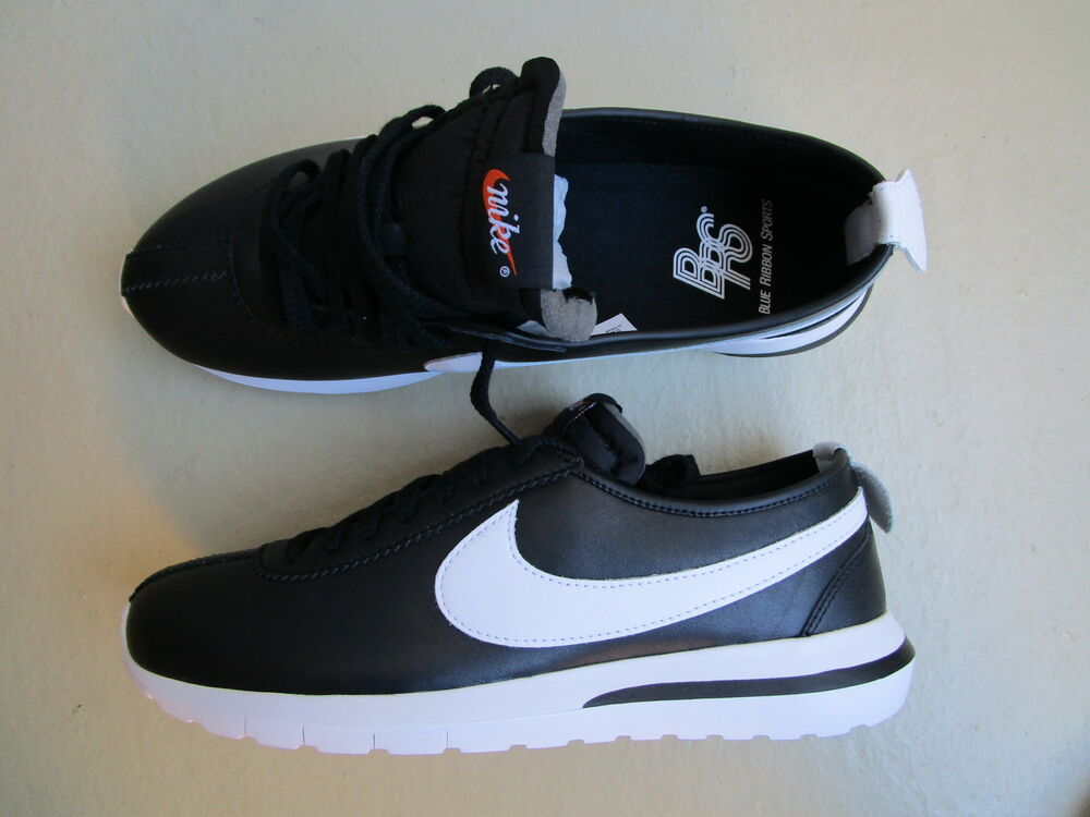 Nike NM Air roshe Cortez nikelab sp NM Nike nikelab Cortez noir blanc b 151893