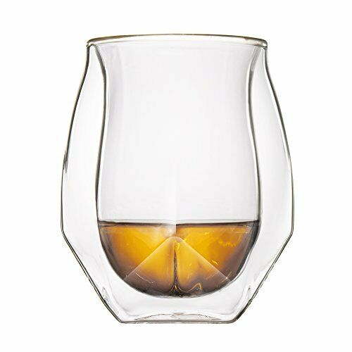 Norlan Whisky Glass, Set Of 2 Fashioned Whisky Glasses Bar Special New