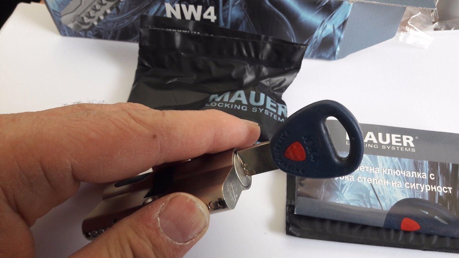MAUER NW4 SKG .Sicherheits-Schließzylinder Mit 3 Schlüssel  | Preisreduktion  | Billig  | Moderner Modus  | Neues Design