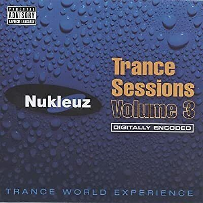 Nukleuz Trance Sessions Vol.3, Various Artists, Used; Good CD