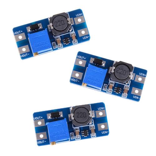3X dc-dc 5v//9v//12v//28v boost converter adjustable step up power supply module~L3