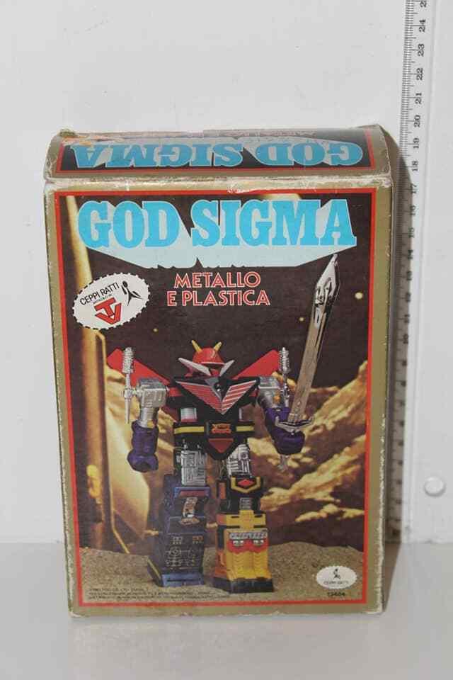 ROBOT GODSIGMA CEPPIRATTI GOD SIGMA 1981 TOEI MADE IN HONG KONG VINTAGE TOY