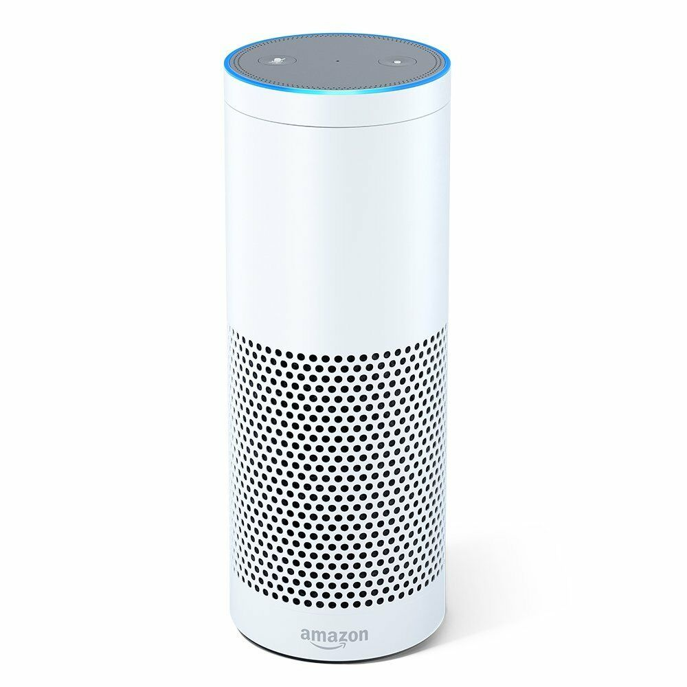 New Amazon Echo Digital Media Streamer blueetooth Wifi White color New
