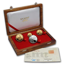 2010 South Africa 4-Coin Gold Krugerrand Frac. Set (w/Box & COA) - SKU #62414