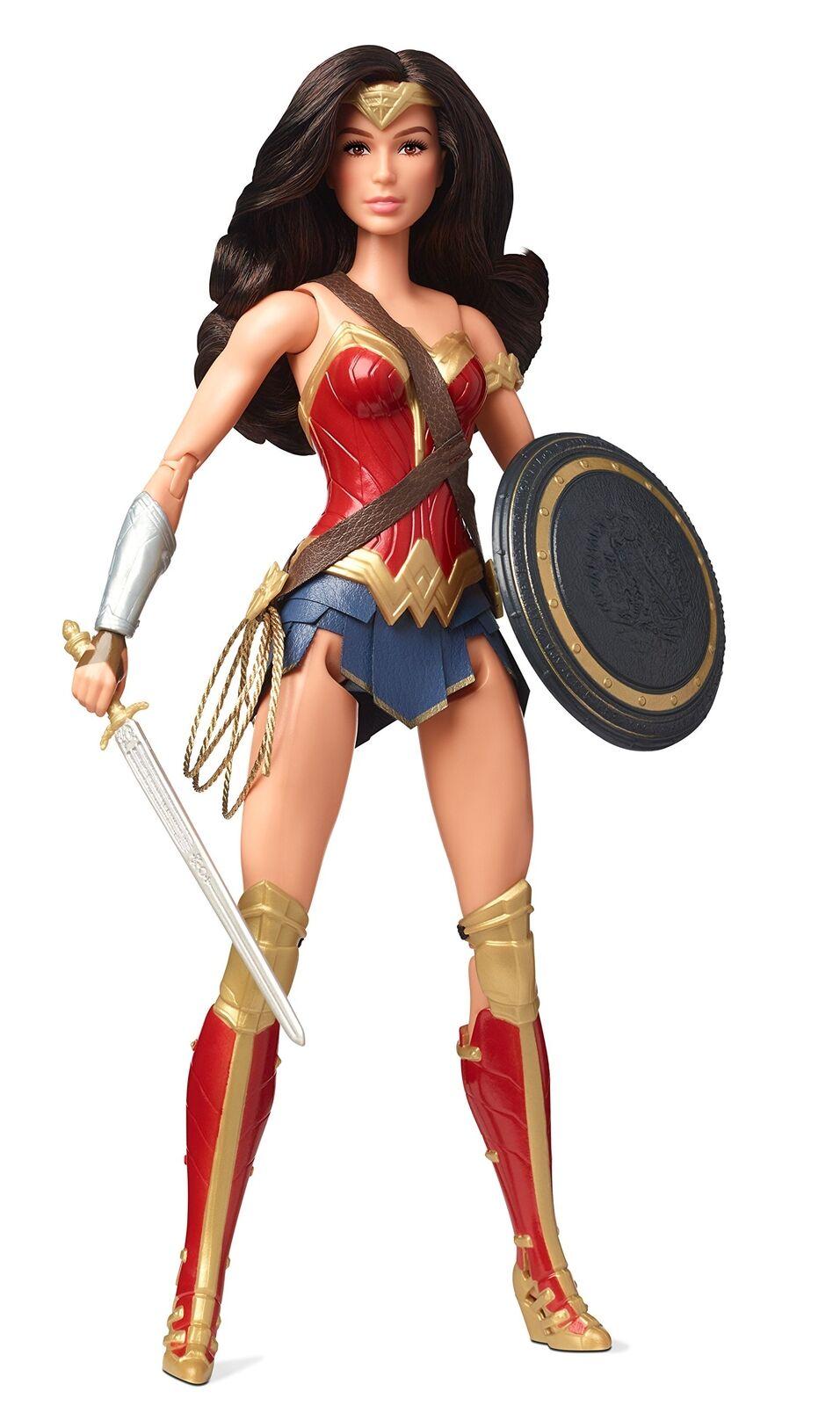 Barbie Justice League Wonder Woman Figure New Movie Xmas Girls Gift
