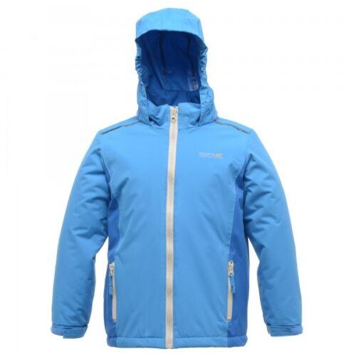 Regatta Chuckie Boys Girls Waterproof Windproof Padded Jacket Blue