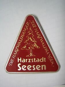 Harzklub, Seesen, Die Harzwaldsänger, Metall-Abzeichen - Seesen, Deutschland - Harzklub, Seesen, Die Harzwaldsänger, Metall-Abzeichen - Seesen, Deutschland