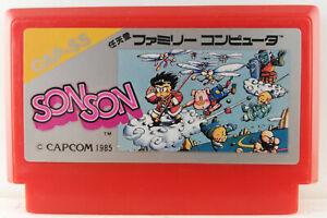 Son-Son-Nintendo-Famicom-FC-Capcom-1986-CAP-SS-Japan-Import