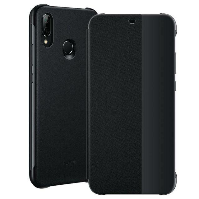 Huawei P20 Lite Smart View Flip Case 51992313 - Schwarz
