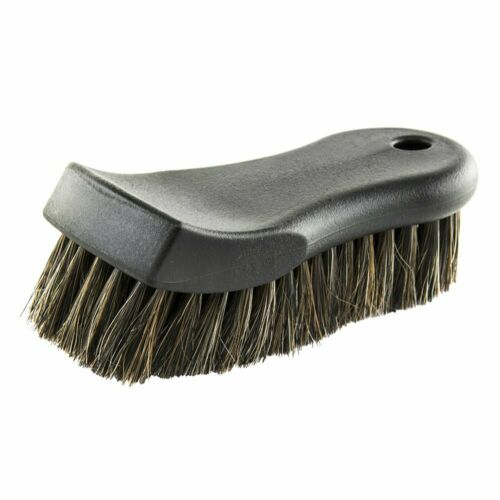 Chemical Guys Leather Carpet Furniture Shoe Cleaning Upholstery Horse Hair Brush