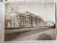 ORIGINAL 1912 METROPOLITAN MUSEUM OF ART MANHATTAN NEW YORK CITY WIRE PHOTO 7X9