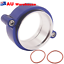 HD-Clamp-V-band-Flange-Assembly-Fits-3-034-INCH-76mm-Turbo-Dump-Pipe-Blue thumbnail 1