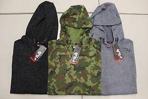 2d8eb8d7b2e6 Men's FILA SPORT Fleece 2.0 Pullover Hoodie (Hooded Sweatshirt) | eBay