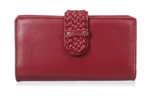 Buxton Hailey Super Wallet Red
