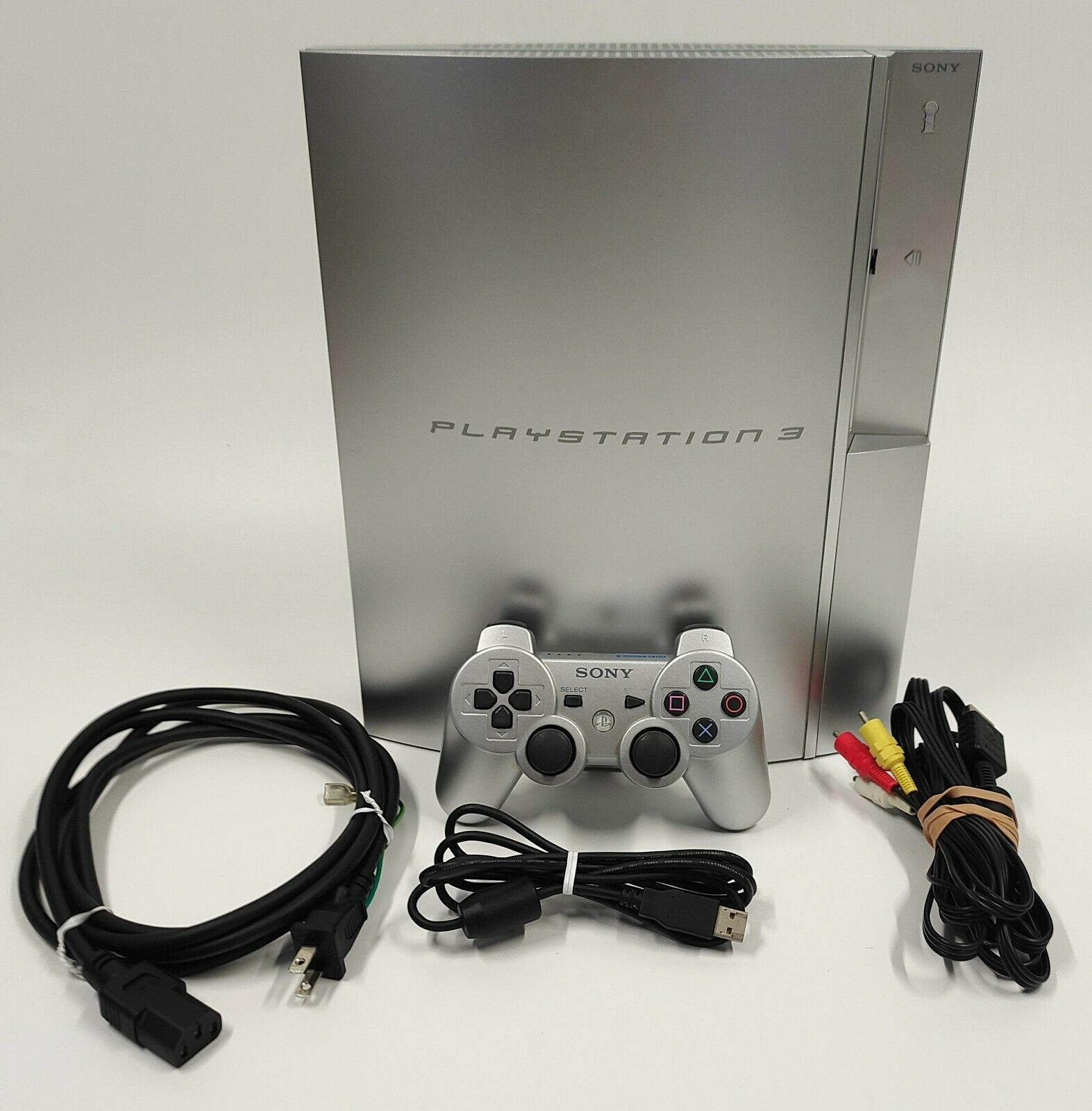 Sony PlayStation 3 PS3 Satin Silver Console NTSC-J JAPANESE TESTED