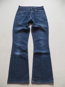 Levi-039-s-525-Bootcut-Jeans-Hose-W-29-L-32-Hippie-Schlaghose-mit-Stretch-RAR