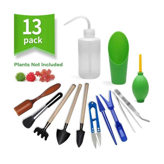 13pcs Mini Transplanting Hand Scissor Succulent Shovel Gardening Tools Planting
