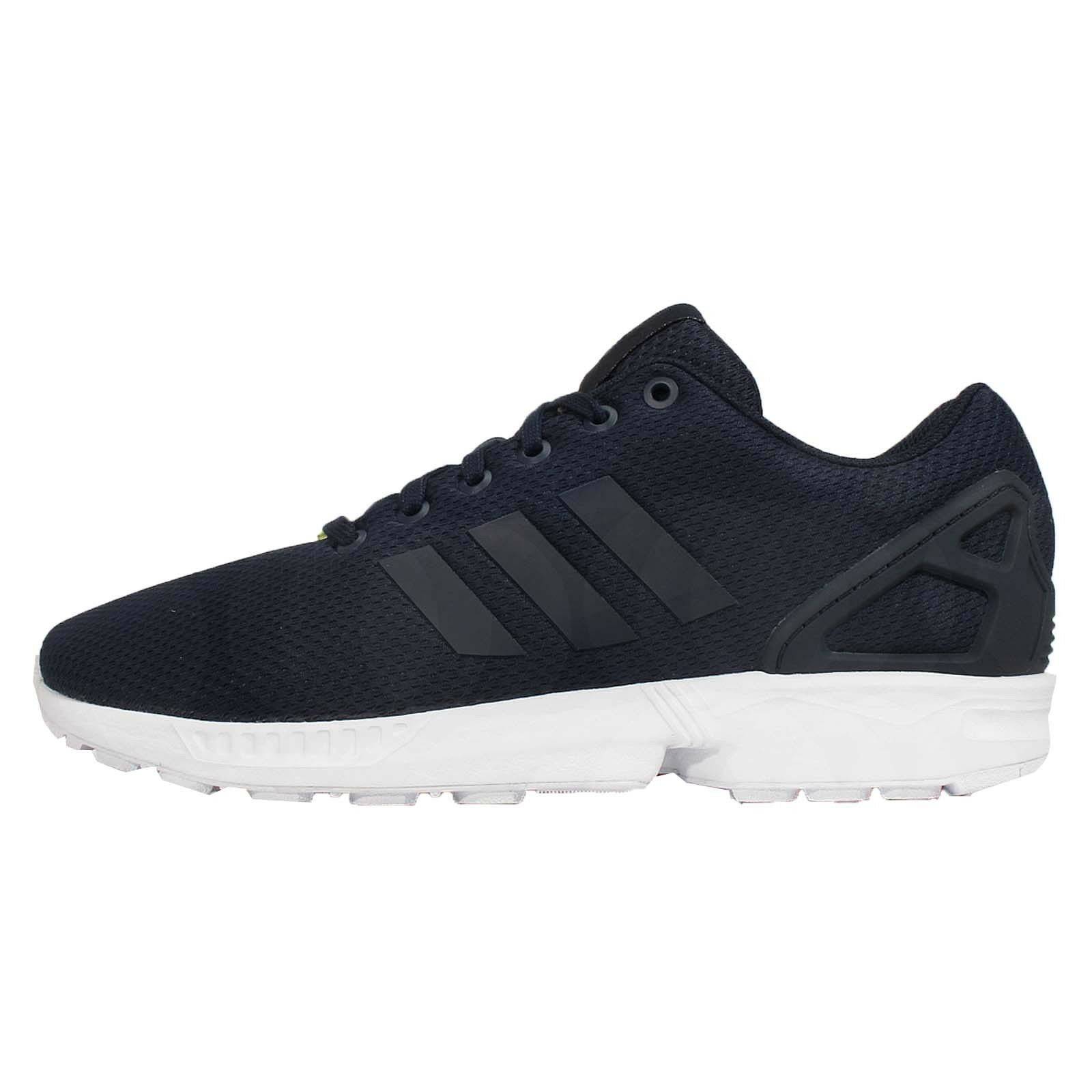 Adidas Originals Zx Flux Azul Marino Nuevo Blanco Para Hombre Corriendo Nuevo Marino Zapatillas m20181 926d94