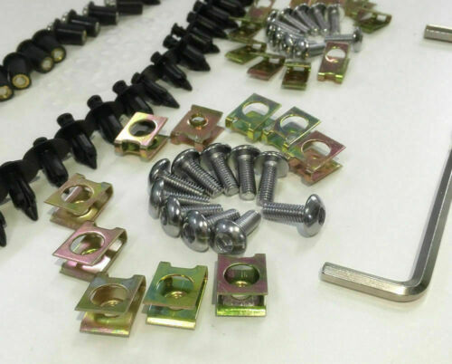 Fairing Bolt Kit body screws Clips For SUZUKI GSX-R1000 GSXR 1000 2000-2002