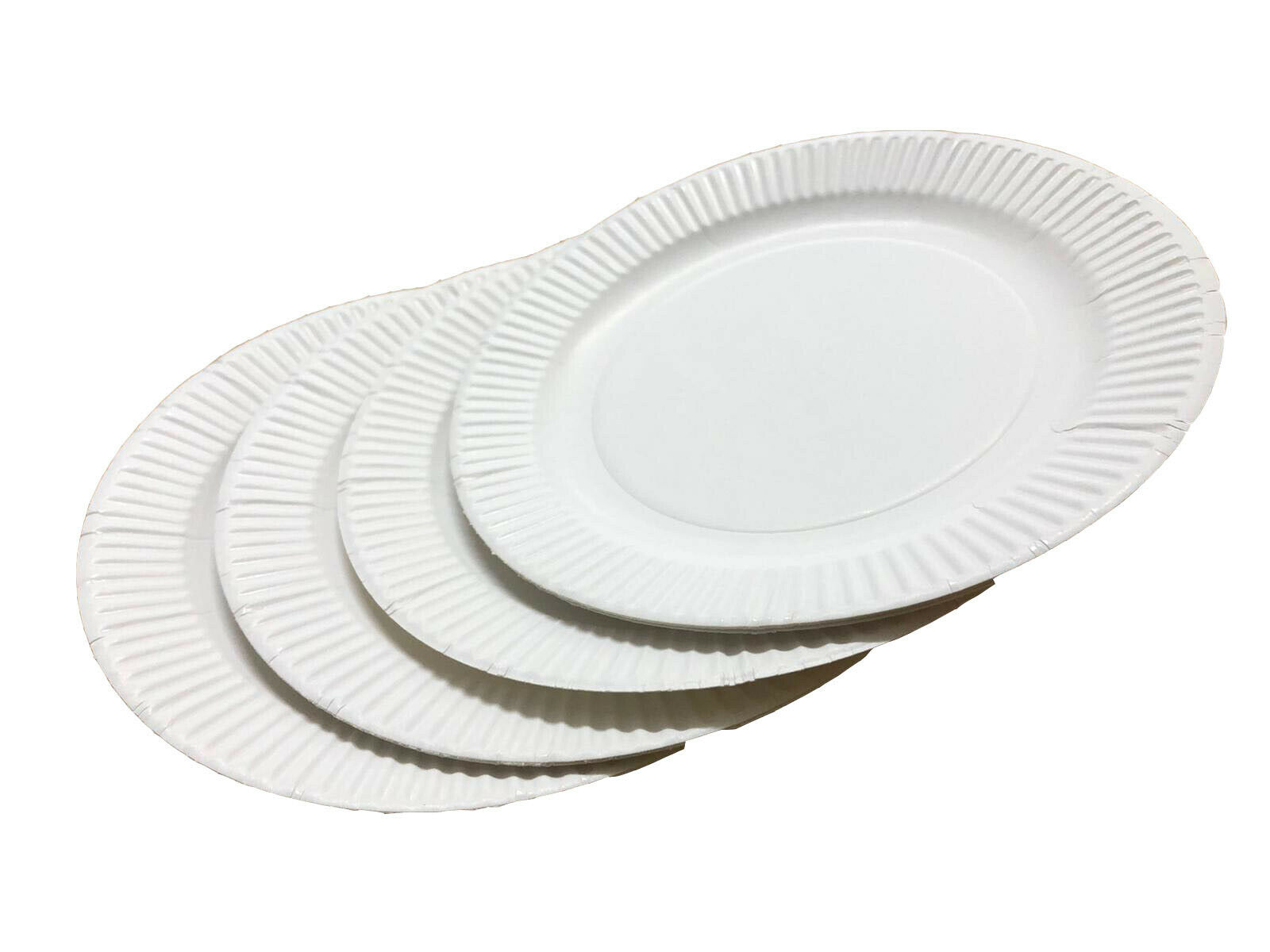 Weiß Disposable Paper Plates 6    7    9  perfect for BBQ and parties Select