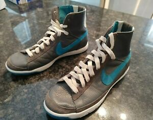 Nike 313722-033 Women or unisex Blazer Mid Gray teal Size 7