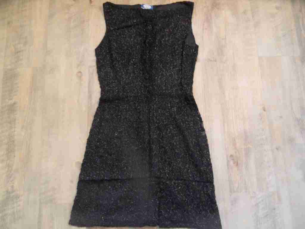 BlauGIRL BlauMARINE chices Spitzenkleid schwarz Gr. 36 NEUw.  BI1116