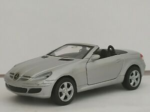 1-34-MERCEDES-BENZ-SLK-R171-SLK350-COCHE-DE-METAL-ESCALA-SCALE-CAR-DIECAST-1-32