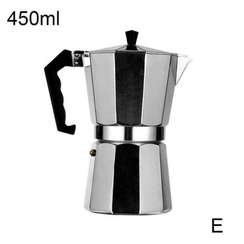 2 /& 9 Cup Italian Stove Top Pot Moka Percolator B0T3 Italian Espresso Maker 1