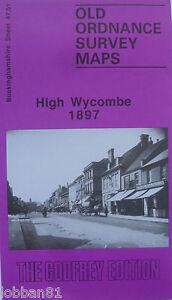 Old-Ordnance-Survey-Map-High-Wycombe-Buckinghamshire-1897-Sheet-47-01-New