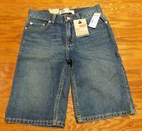 Levi's 505 Denim Short Cotton Shorts Regular Levi Size 12 Waist 26 With Tags