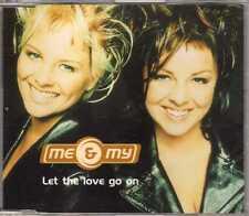 Me & My - Let The Love Go On - Promo CDM - 1999 - Eurodance 1TR Denmark