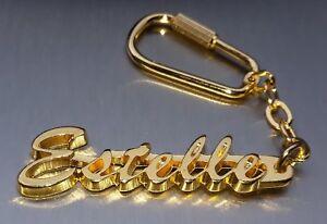 Schlüsselanhänger Schlüsselanhänger Edler SchlÜsselanhÄnger Dennise Vergoldet Gold Name Keychain Weihnachtsgeschenk