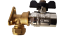 Outside-garden-Tap-15mm-Compression-Wall-Plate-Brass-Fitting-with-tap-outlet-kit thumbnail 5