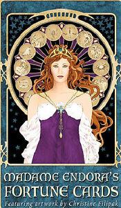 Madame Endora's Fortune Cards Tarot Oracle Small Press Christine Filapak