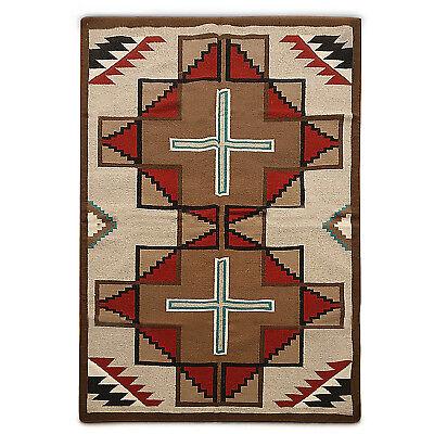8/' x 8/' Southwestern Navajo kilim dhurry handmade area rug 100/% wool square 8x8