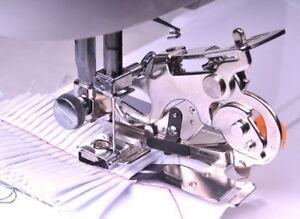 Pied fronceur plisseur pieds-de-biche rufleur machine à coudre 55705 tige basse