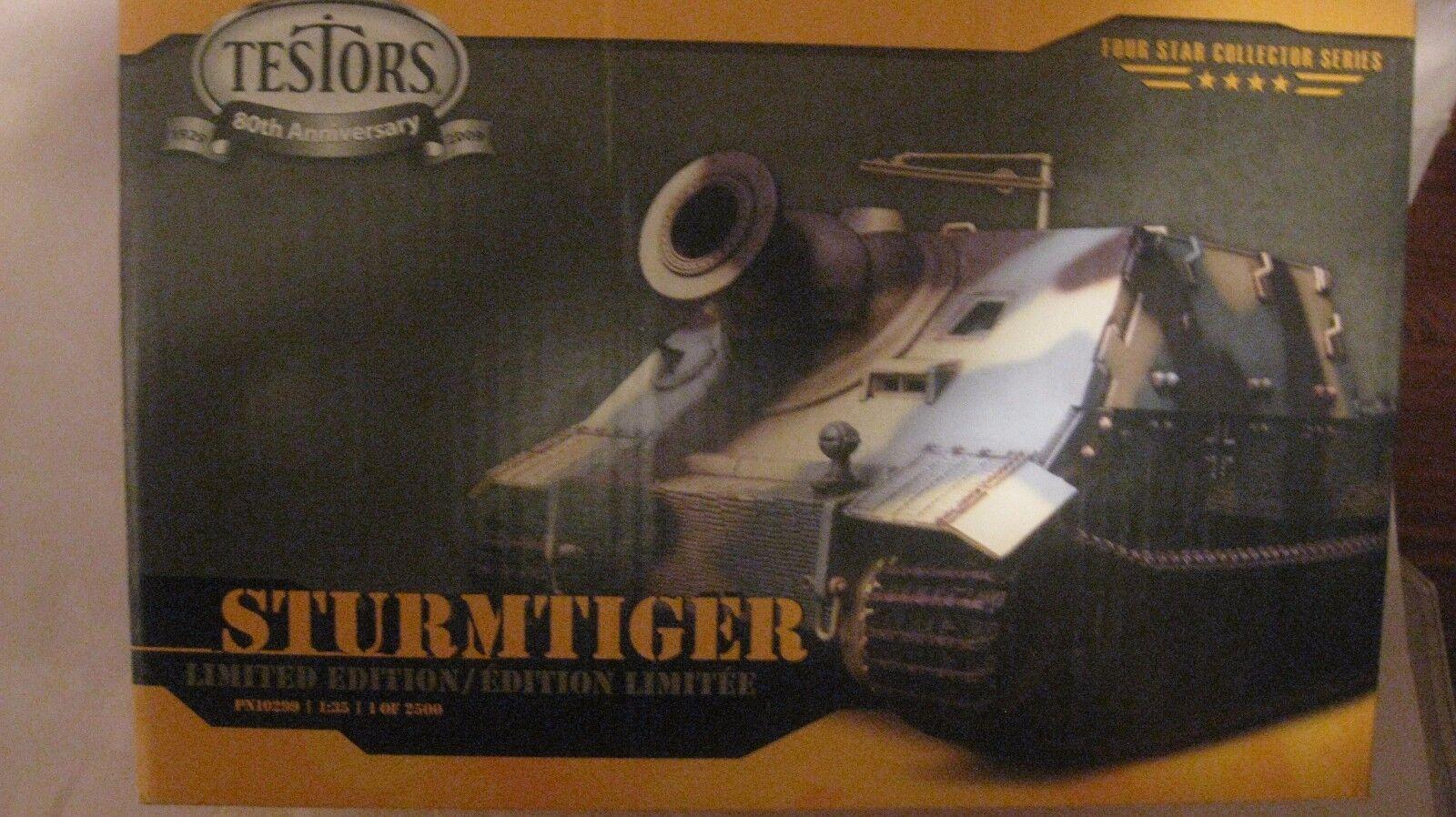 Sturmtiger Le Tanque Kit de Modelismo PN10299 135 Escala & Caja Exhibición