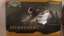 Sturmtiger LE Tank Model Kit PN10299 135 Scale & Display Case From Testors  md79