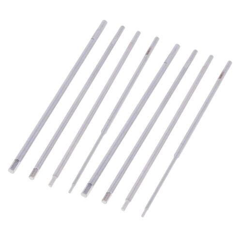 8x Metall Sechskantschlüssel Schraubendrehersatz 1,5 mm 2,0 mm 2,5 mm 3,0