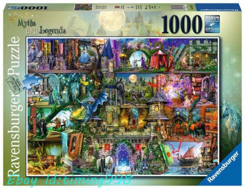 Ravensburger Mysterious Legend Fantasy 1000 Adult Decompression Puzzles Toys New
