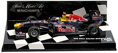 rot Bull Racing RB7 Sebastian Vettel, Minichamps, 1 43,    Zuverlässige Leistung