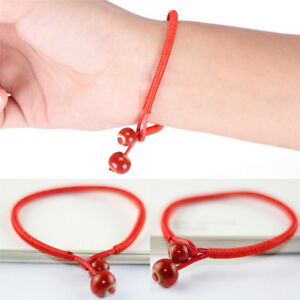 Lucky-Bracelets-Bead-Red-String-Ceramic-Woven-Bracelets-Charm-Handmade-JewelrySG