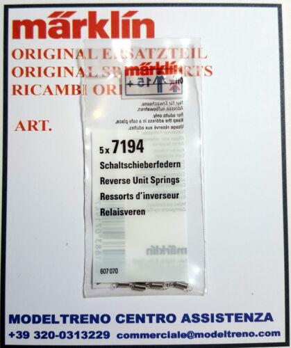 MARKLIN  7194 200330  MOLLA  RELE' (5 pz.)   SCHALTSCHIEBERFEDER  (5 St.)
