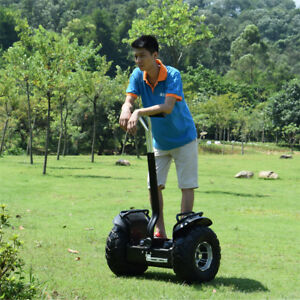 Image Is Loading Two Wheel 19in Off Road Electric Self Balance