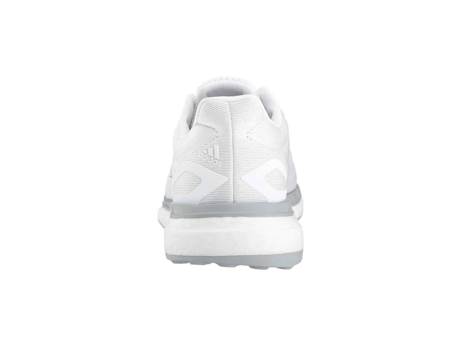 Damen Weiß Adidas Sonic Antrieb Laufschuhe Weiß Damen Sneakers Verstärkung BA7784 Neu 028807