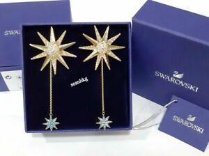 Swarovski-Lucky-Goddess-Pierced-Earrings-STAR-GOS-Crystal-MIB-5464169