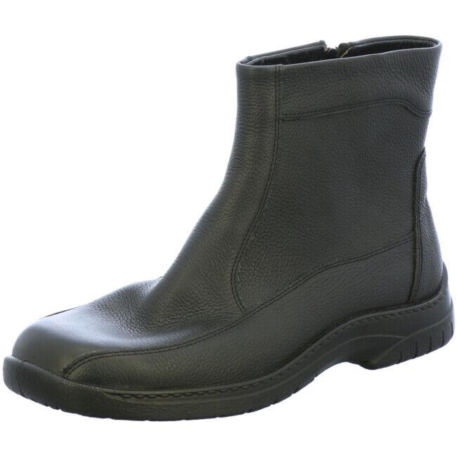 Jomos Herren Schuhe Stiefel Stiefelette Lammfell Feetback 406502 45 000 Leder