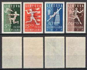 512-Lituania-Raduno-scout-Scouting-Baden-Powell-1938-Nuovi-MNH